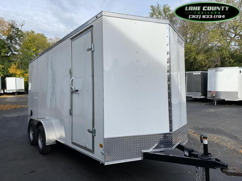 2021 Haulmark PP-Deluxe 7X16X7 Enclosed Trailer. Trades OK Enclosed Cargo Trailer