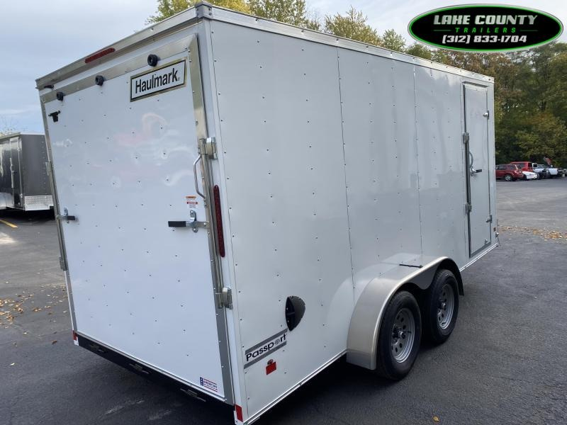 2021 Haulmark PP-Deluxe 7X16X7 Enclosed Trailer. Trades OK Enclosed Cargo Trailer
