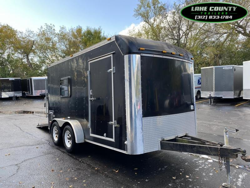 2005 Haulmark Cadet 7X14 Enclosed Trailer. We Take Trades Enclosed Cargo Trailer