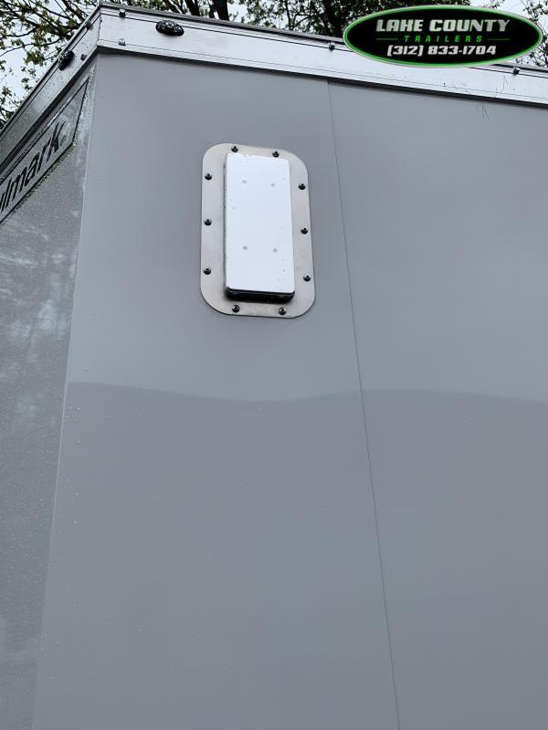 2021 Haulmark GRZ-ALX 8.5X16 with 7' Interior Height Enclosed Cargo Trailer