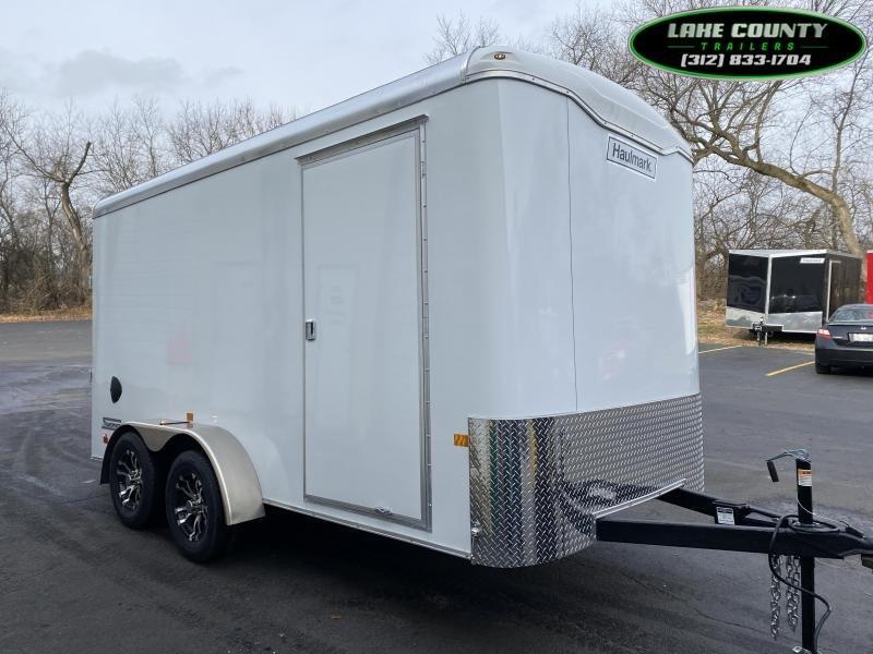 2021 Haulmark Transport 7X14X7 Enclosed Trailer. We Take Trades Enclosed Cargo Trailer