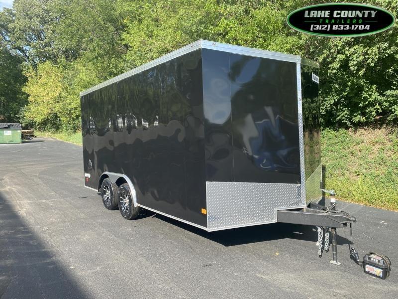 2021 Haulmark TS-V 8.5X16 with 7' Interior Height Car / Racing Trailer