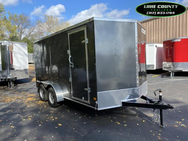 2021 Haulmark PP-D 7X14 Enclosed Trailer. We Take All Trades Enclosed Cargo Trailer