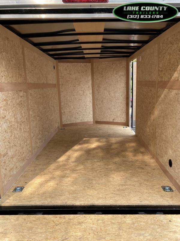 2021 Haulmark Passport DLX 7X12 Tandem Axle. Trades OK Enclosed Cargo Trailer