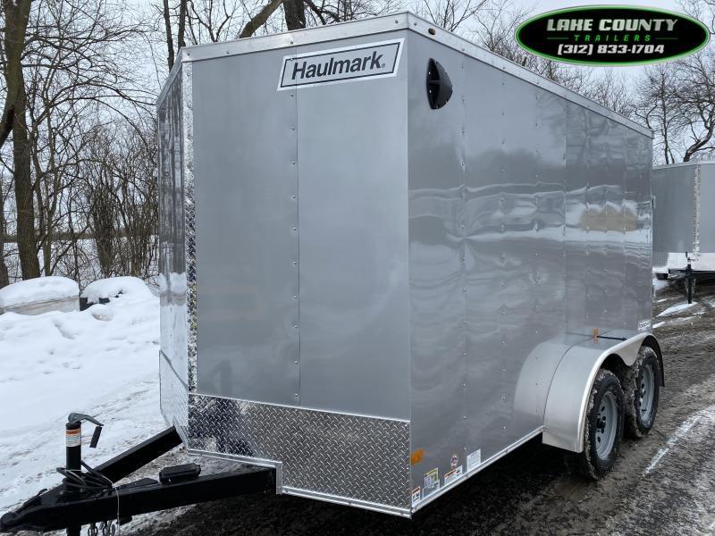 2021 Haulmark PP-DLX 7X12 Tandem Axle. We Take Trades Enclosed Cargo Trailer