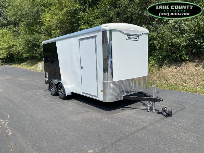 2022 Haulmark TS 7X16 with 7' Interior Height Enclosed Cargo Trailer