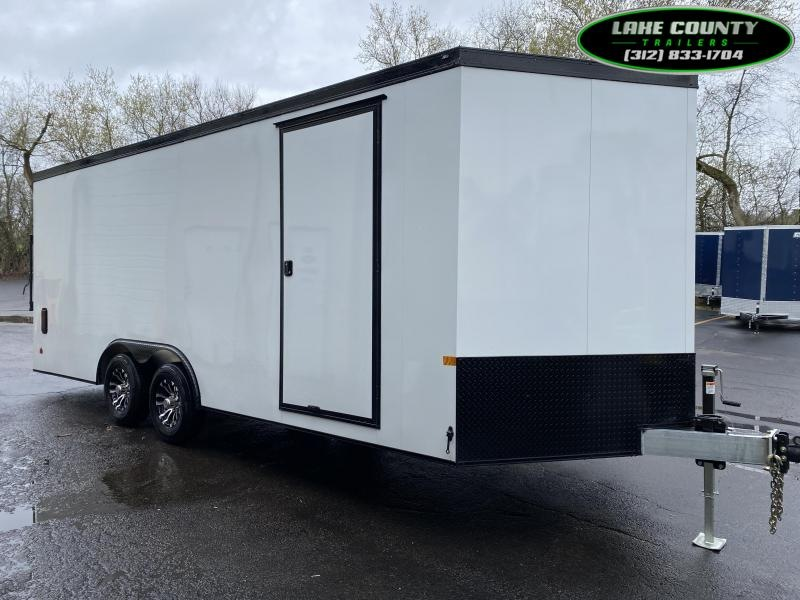 2021 Haulmark GRX Aluminum HD. 8.5X20X7. Loaded Enclosed Cargo Trailer