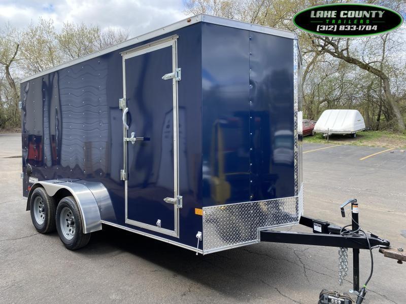 2021 Haulmark PP-DLX 7X14 With Rear Cargo Doors Enclosed Cargo Trailer