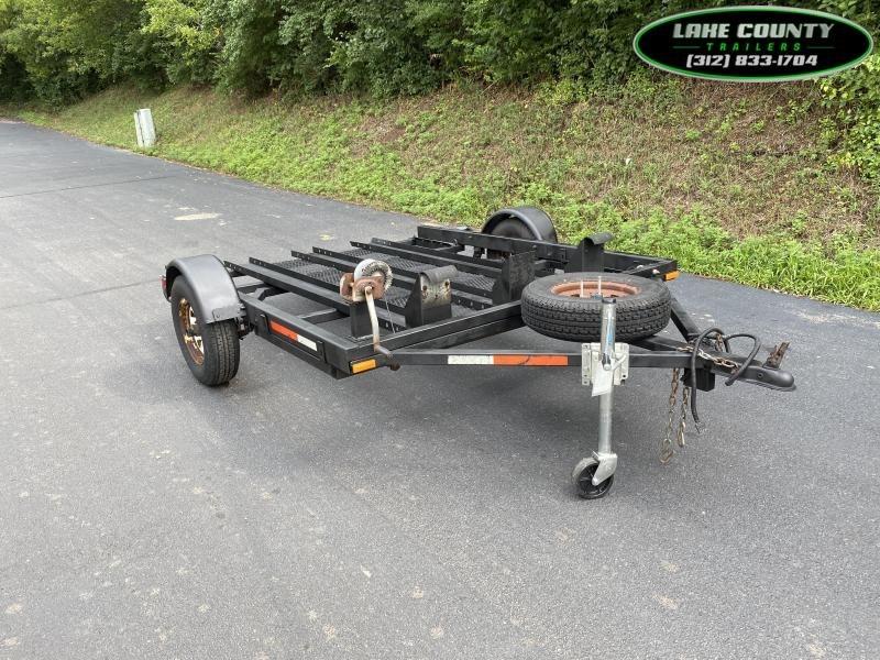 1996 Other Easy Hauler 3-Rail Motorcycle Trailer Black Motorcycle Trailer