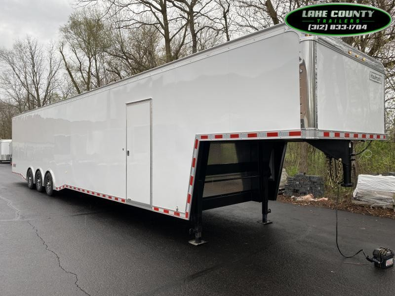 2021 Haulmark EDGE 48' Gooseneck Nicely Equipped. Trades OK Car / Racing Trailer