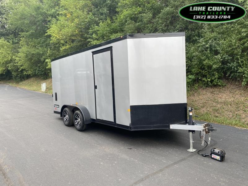 2021 Haulmark GRZ-ALX 7X16 with 7' Interior Height Enclosed Cargo Trailer