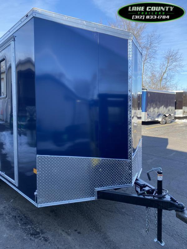 2021 Haulmark TSV 7X16X7 With A/C Heat Window & RV Door Enclosed Cargo Trailer