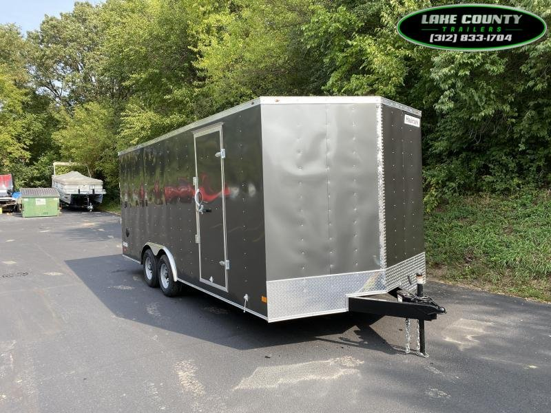 2021 Haulmark Passport DLX 8.5X20X7 w/ 10K GVWR. Trades OK Enclosed Cargo Trailer