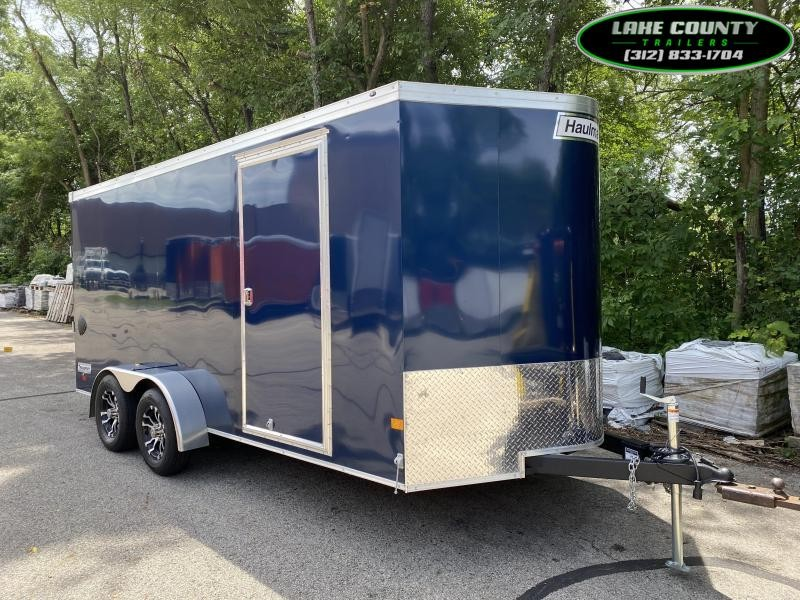 2020 Haulmark Transport V 7X16 Enclosed Trailer. Trades OK Enclosed Cargo Trailer