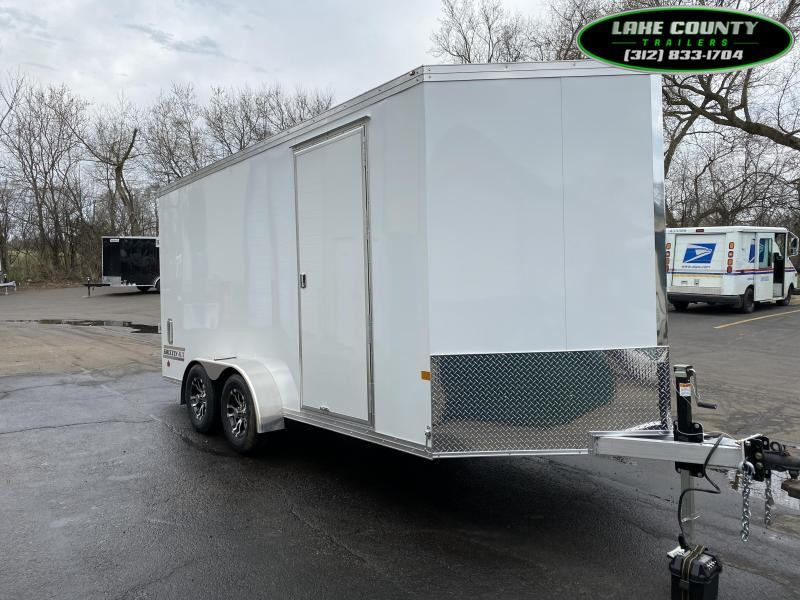 2021 Haulmark GRZ Aluminum 7X16 With 7' Interior. Torsion. HD Enclosed Cargo Trailer