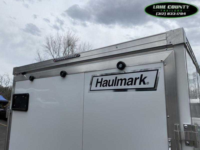 2021 Haulmark GRZ Aluminum 7X16 With 7' Interior. Torsion. HD Enclosed Cargo Trailer
