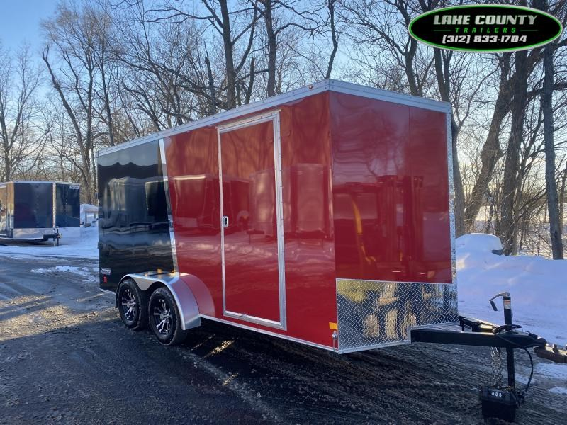 2021 Haulmark TSV 7X16X7. 7K GVWR. We Take All Trades Enclosed Cargo Trailer
