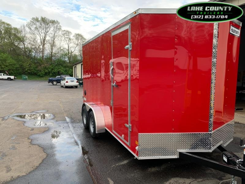 2021 Haulmark PP-D 7X14 with 7' Interior Height Enclosed Cargo Trailer