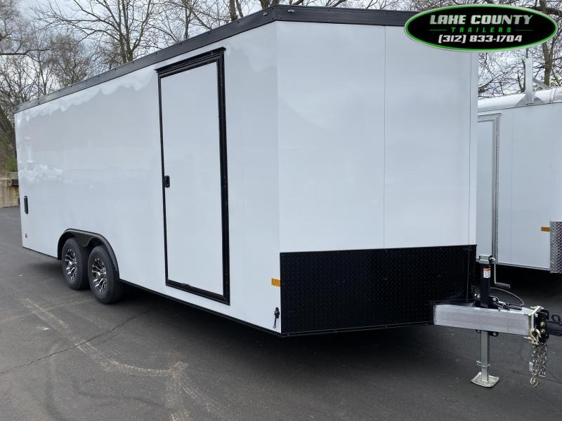 2021 Haulmark Grizzly Aluminum HD 8.5X20 With 7' Interior Enclosed Cargo Trailer
