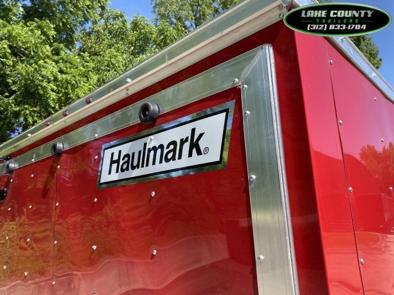 2021 Haulmark Passport DLX Enclosed Trailer 7X14X7. We Take All Types Of Trades Enclosed Cargo Trailer