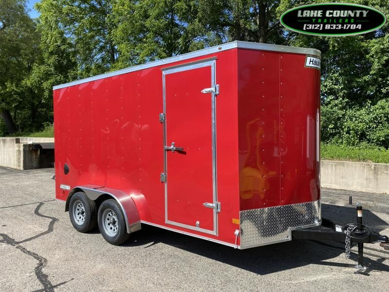 2021 Haulmark Passport DLX Enclosed Trailer 7X14X7. We Take All Types Of Trades Enclosed Cargo Trailer