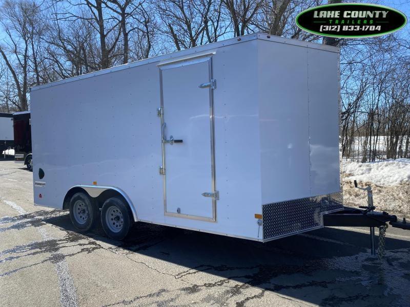 2021 Haulmark PP-DLX 8.5X16X7 Enclosed Trailer. Trades OK Enclosed Cargo Trailer