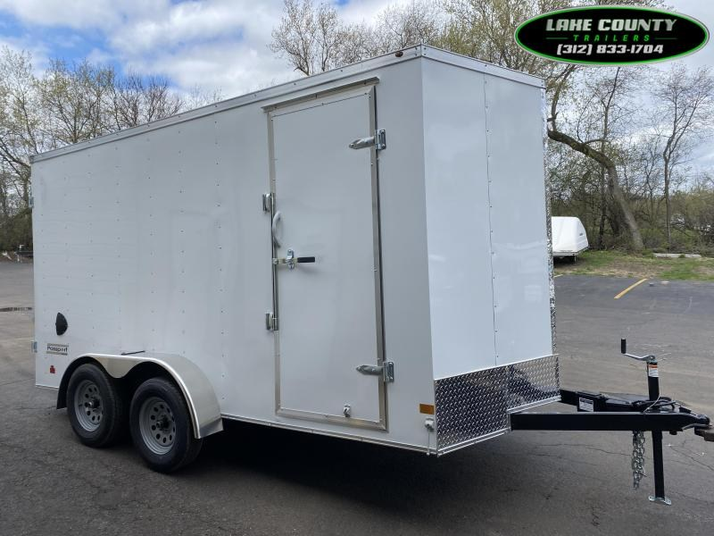 2021 Haulmark PP-DLX 7X14 With 7' Interior. Cargo Doors Enclosed Cargo Trailer