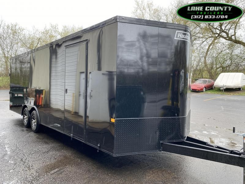2021 Haulmark Grizzly Aluminum HD 8.5X24 with 7' Interior Enclosed Cargo Trailer
