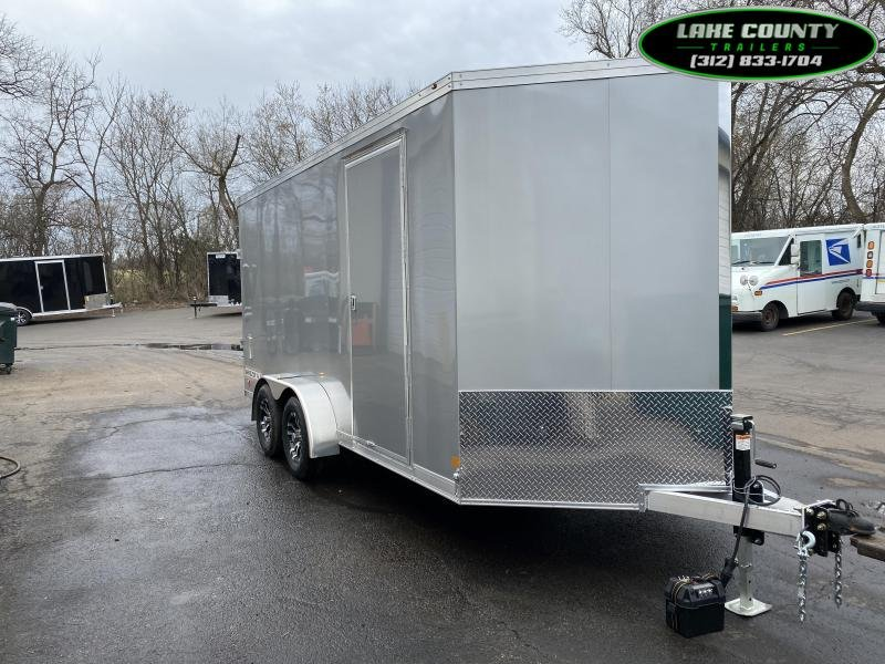 2021 Haulmark GRZ Aluminum HD 7X16 With 7' Interior. Trades OK Enclosed Cargo Trailer