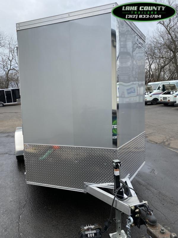 2021 Haulmark GRZ Aluminum HD 7X16 With 7' Interior. Trades OK Enclosed Cargo Trailer