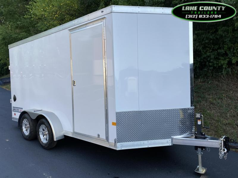 2021 Haulmark Grizzly Aluminum 7X14. We Take All Trades Enclosed Cargo Trailer