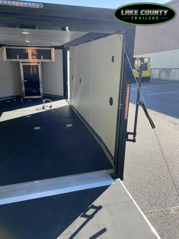 "2022 Haulmark VNLH 7X14 with 5'6"" Interior Height Motorcycle Trailer"