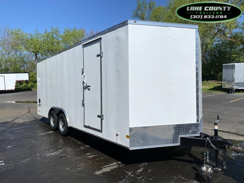 2021 Haulmark PP-D 8.5X20 with 7' Interior Height Enclosed Cargo Trailer