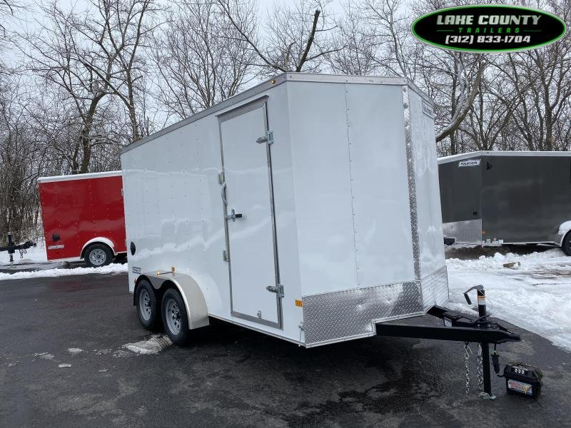 2021 Haulmark PP-DLX 7X14 W/7' Interior. We Take All Trades Enclosed Cargo Trailer
