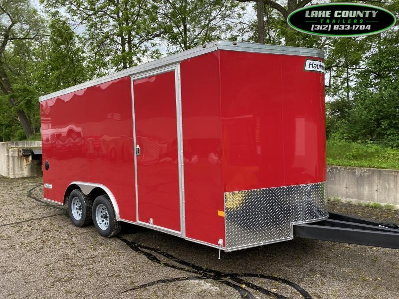2021 Haulmark Transport V Enclosed Trailer W/ Ext Tongue 8.5x16. We Take Trades Enclosed Cargo Trailer