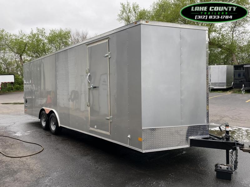 2021 Haulmark PP-D 8.5X24 with 7' Interior Height Enclosed Cargo Trailer