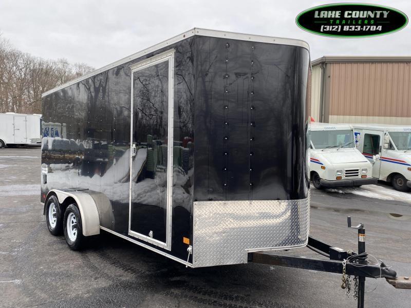 2018 Haulmark PP 7X16 With 7' Interior Enclosed Trailer Enclosed Cargo Trailer