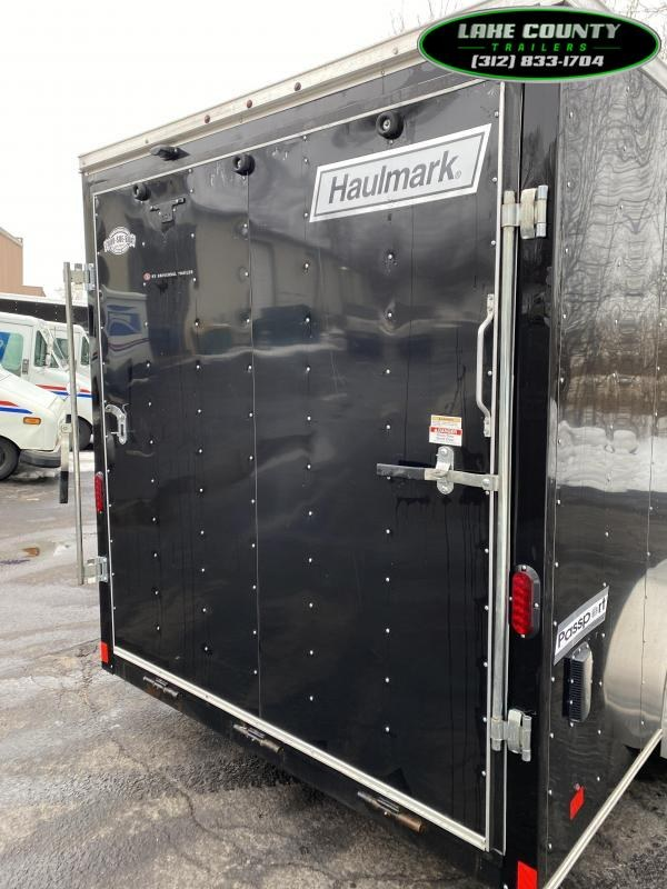 2018 Haulmark PP 7X16 With 7' Interior Enclosed Trailer Enclosed Cargo Trailer