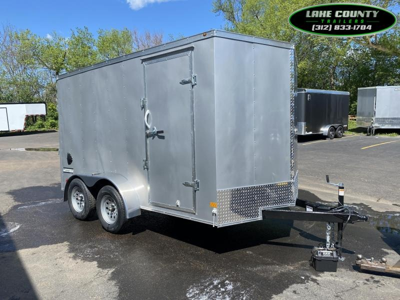 "2021 Haulmark PP-D 7X12 with 6'6"" Interior Height Enclosed Cargo Trailer"