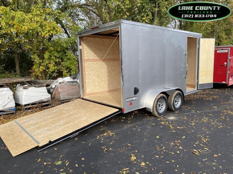 2021 Haulmark PP-DLX 7X14X7 Enclosed Trailer. Trades OK Enclosed Cargo Trailer