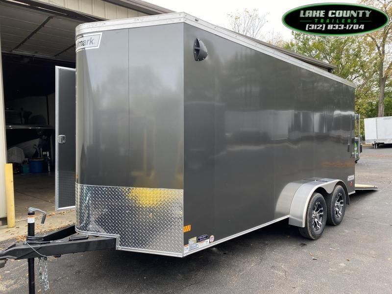 2021 Haulmark TSV 7x16 With 7' Interior. We Take Trades Enclosed Cargo Trailer
