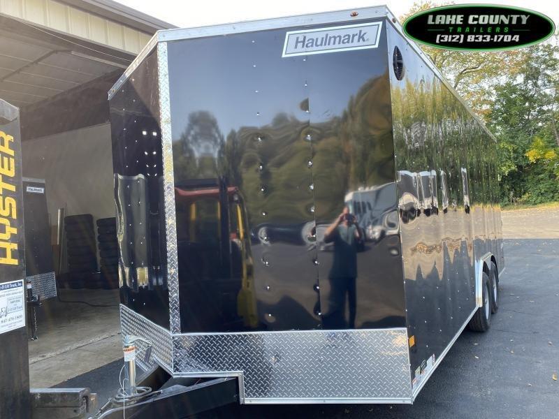 2021 Haulmark Passport DLX 8.5X20X7 with 10K GVWR. Trades OK Enclosed Cargo Trailer