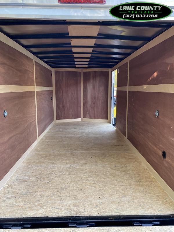 """2021 Haulmark Passport 7X16 With 6' 6"""" Interior Height Enclosed Enclosed Cargo Trailer"""