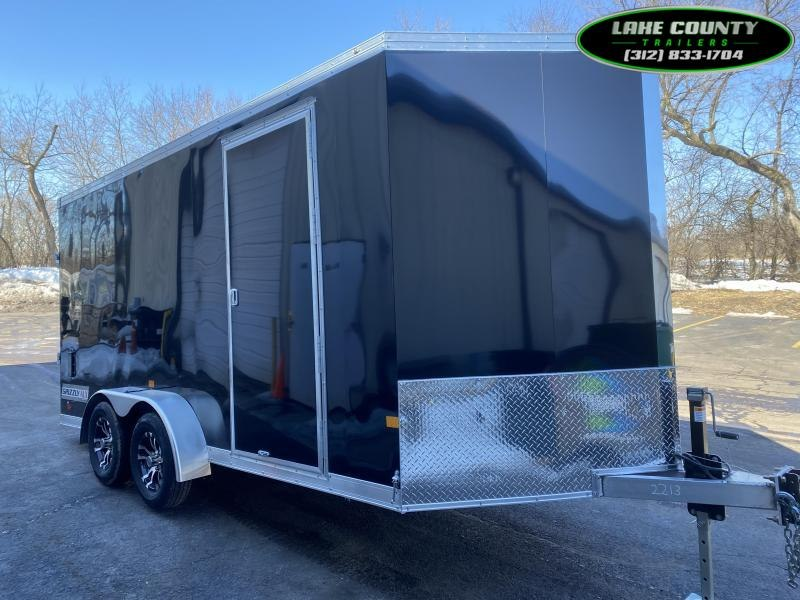 2021 Haulmark Grizzly Aluminum HD 7X16X7. Torsion Axle. Enclosed Cargo Trailer