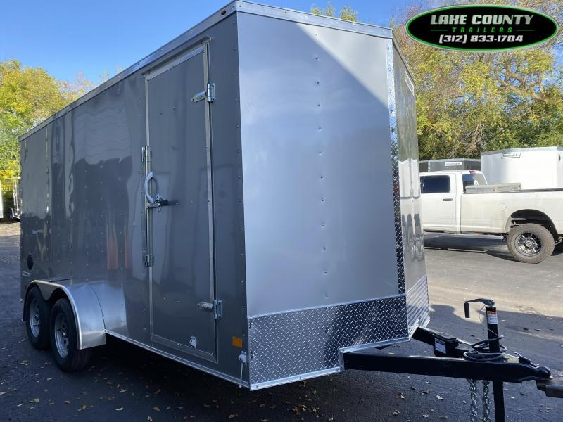 2021 Haulmark Passport DLX 7X16X7 Enclosed Trailer. Trades OK Enclosed Cargo Trailer