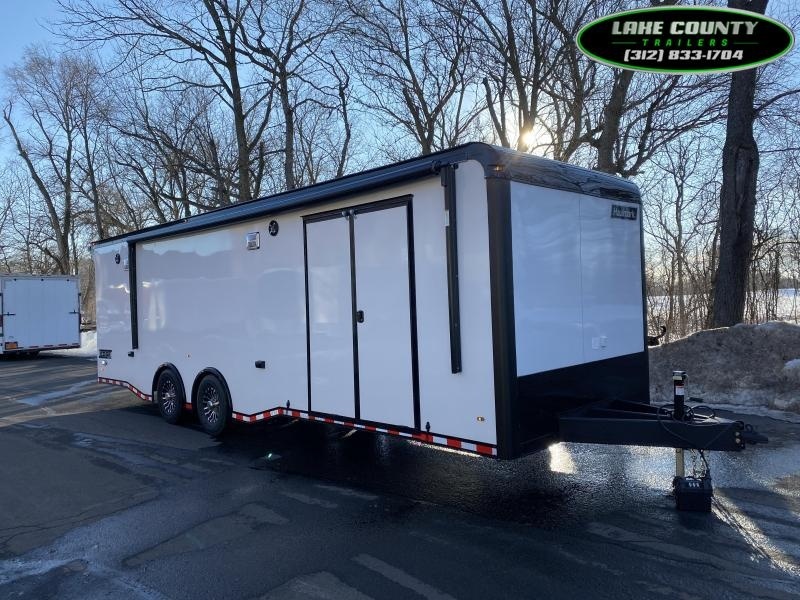 2021 Haulmark Edge 8.5X28 Enclosed Race Trailer. LOADED. Trades Car / Racing Trailer