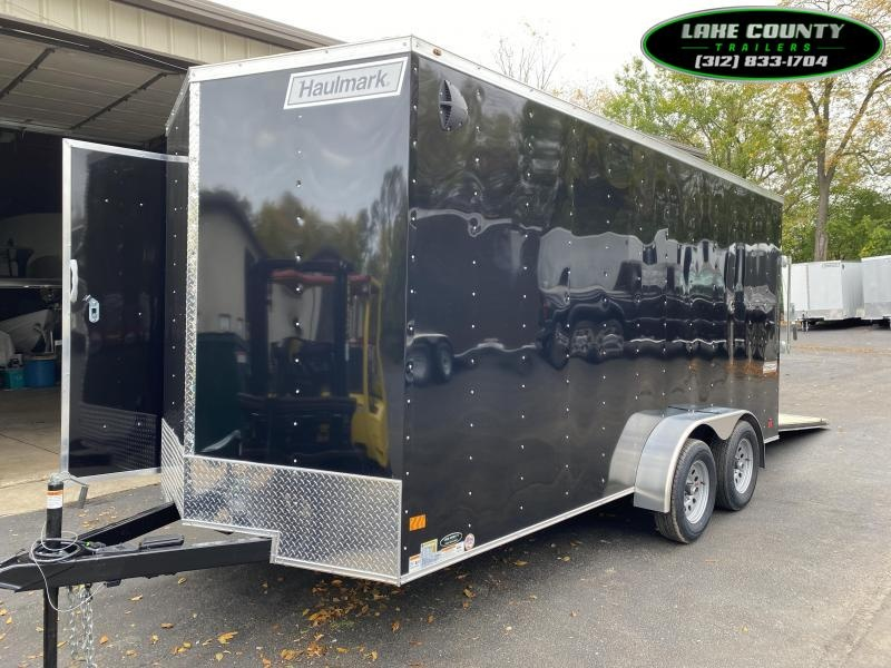 2021 Haulmark PP-Deluxe 7X16 W/7' Interior. We Take Trades Enclosed Cargo Trailer