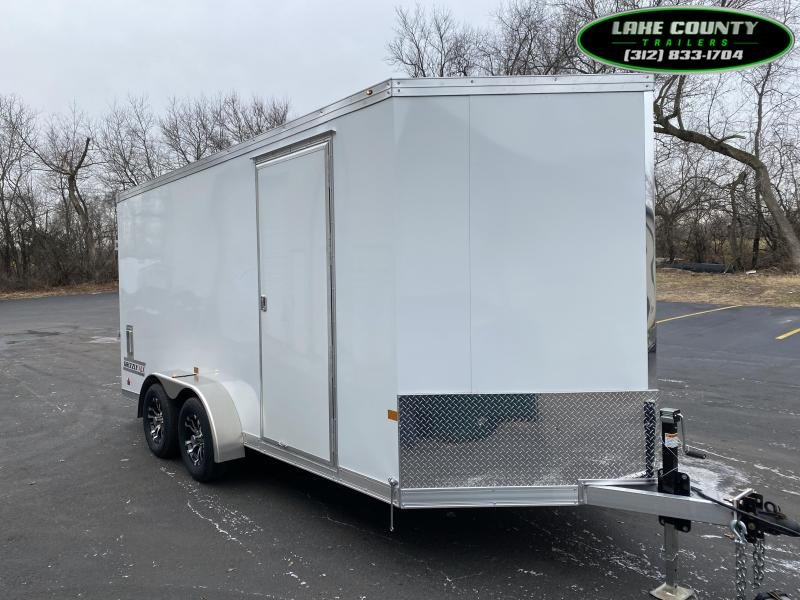 2021 Haulmark Grizzly Aluminum HD 7X16X7 Enclosed Trailer Enclosed Cargo Trailer