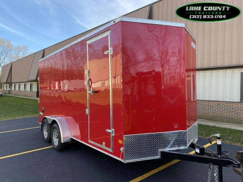 2021 Haulmark PP-DLX 7X16X7 Enclosed Trailer. We Take Trades Enclosed Cargo Trailer