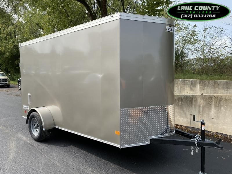 """2021 Haulmark Transport V 6X12 """"Loaded With Options"""". Trades OK Enclosed Cargo Trailer"""
